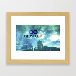 Space Needle - Infinitek Headquarters Seattle Framed Art Print