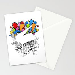 Power of Piano  Stationery Cards