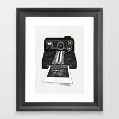 Se souvenir des belles choses Framed Art Print