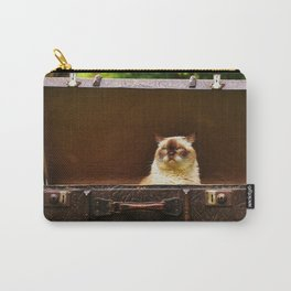 British shorthair cat Carry-All Pouch