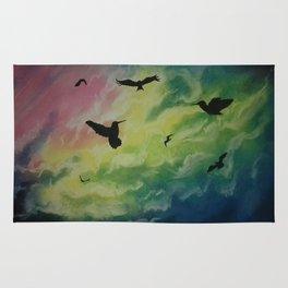 Heaven Of Birds Rug