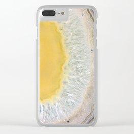 agate slice no. 3 Clear iPhone Case