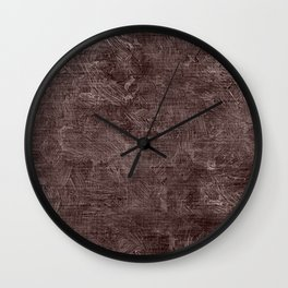 Peppercorn Oil Painting Color Accent Wall Clock