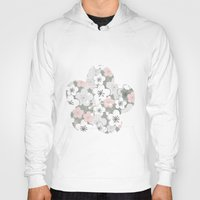 cherry blossom Hoodies featuring Cherry blossom by stickerzlab