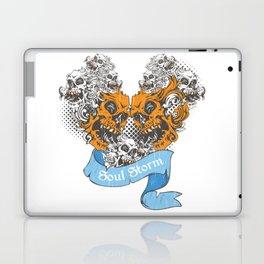 Skull Soul Storm Laptop & iPad Skin
