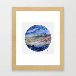 genius loci 2 Framed Art Print