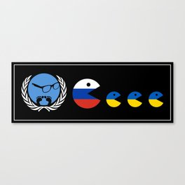 United Nations Russia and Ukraine Canvas Print