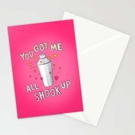 You Got Me All Shook Up Stationery Cards