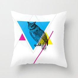 HYPSTER OWL Throw Pillow