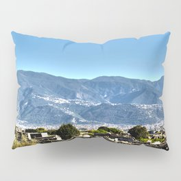 The Ruins of Pompeii Pillow Sham