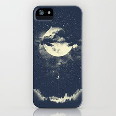 MOON CLIMBING iPhone (5, 5s) Slim Case