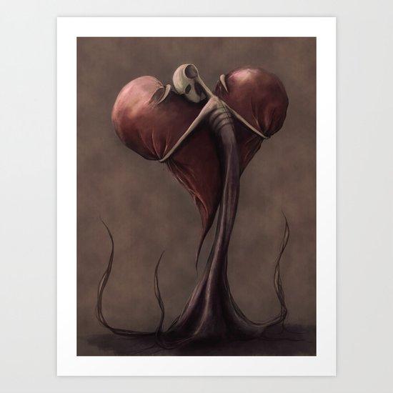 Jealous Love Art Print