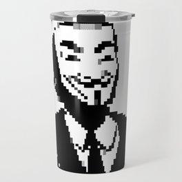 Masks Travel Mug