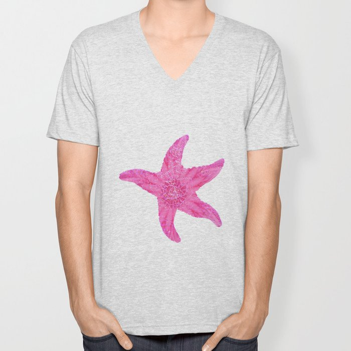 HAWAIIAN STARFISH Unisex V-Neck