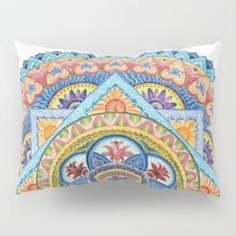 Passiflora Mandala #1 Pillow Sham