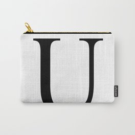 U letter Carry-All Pouch