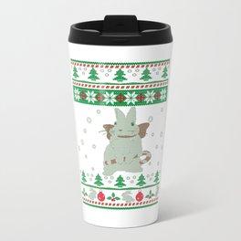 Bunny Christmas Travel Mug