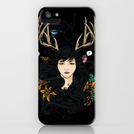 Fawn Girl iPhone Case