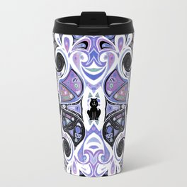 Symmetrical Cat (180i) Travel Mug