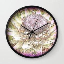 Cardoon  Wall Clock