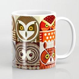 North American Owls Coffee Mug