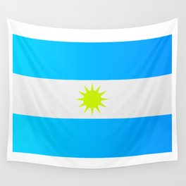 Argentine flag Wall Tapestry