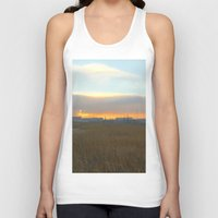 industrial Tank Tops featuring Industrial sunset. by Mikhail Zhirnov