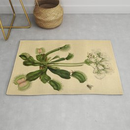 Venus Fly Trap Rug