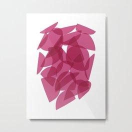 PINK ENCOUNTERS Metal Print