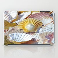 shells iPad Cases featuring Shells by jacqi