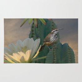 Cactus Wren Rug