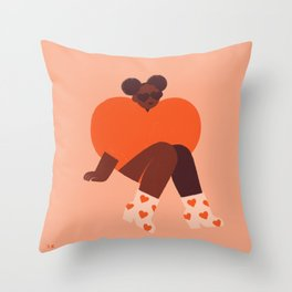 Self Love Throw Pillow