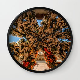 Montisola flower festival on island of Montisola Wall Clock