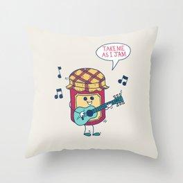 Jam Throw Pillow