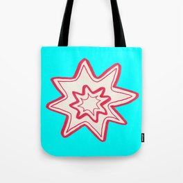POW -  (Bright Blue) Tote Bag