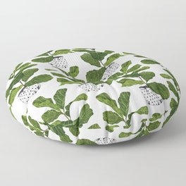 Fiddle leaf fig Tree Floor Pillow