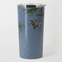 FLYING SQUIRRELS IN THE PINES (twilight) Travel Mug
