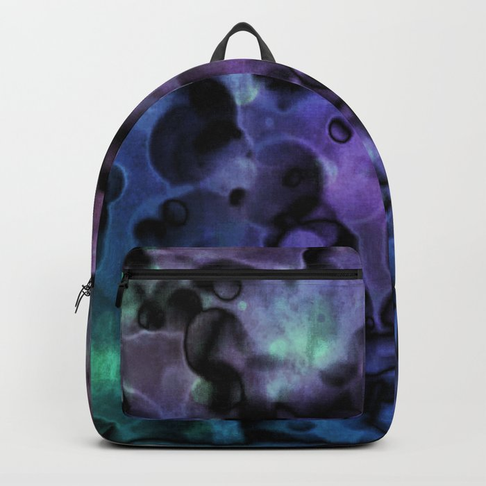 Inside Out Coral Abstract Backpack