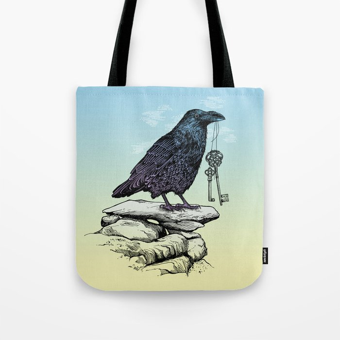 Raven's Keys Tote Bag