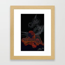 The Hyperion Suite - The Scholar Framed Art Print