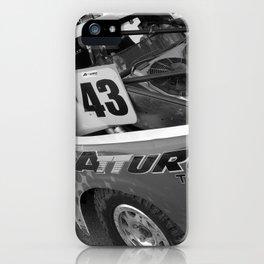Track Noir TORC #7 iPhone Case