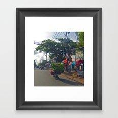 Jungle on Wheels Framed Art Print