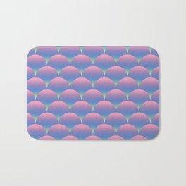 Gradient Circles Bath Mat