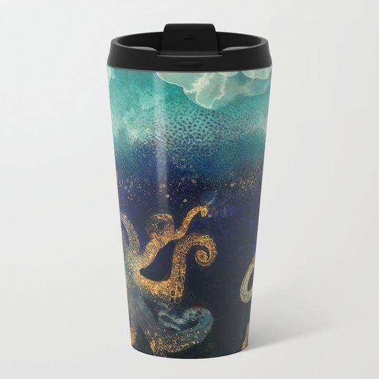 Underwater Dream II Metal Travel Mug