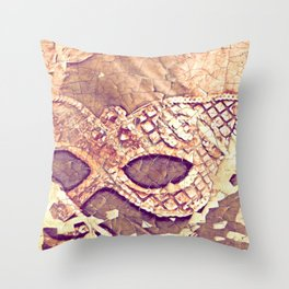 When the Curtains Close Throw Pillow