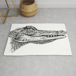 Alligator  Rug