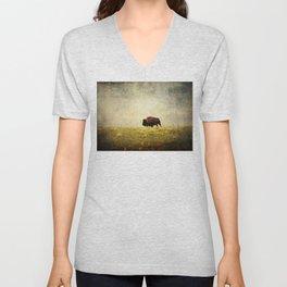 Lone Buffalo Unisex V-Neck