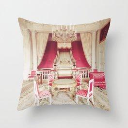 Princess Pink Chambers Throw Pillow