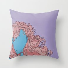 Shaman's Spiral Throw Pillow