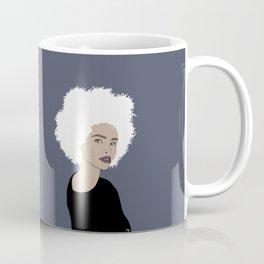 Curly Beauty Coffee Mug
